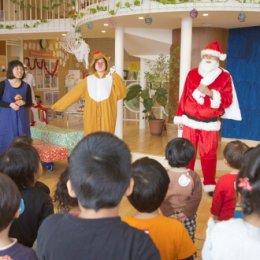 P'sスマイル保育園にて「クリスマスパーティー」を開催
