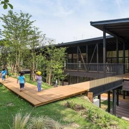 東寺尾どろんこ保育園、第60回神奈川建築コンクールの優秀賞を受賞