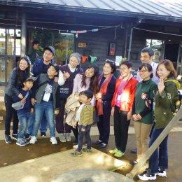 韓国視察団との記念撮影