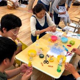 参加者は150人!「手作り玩具フェスティバル」で子どもたちが楽しく遊べる玩具作りを学びました。