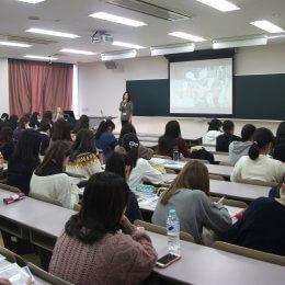 十文字学園女子大学にて学生向けに特別講義を開催
