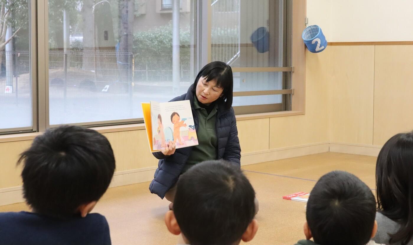 絵本を使って行う幼児への性教育