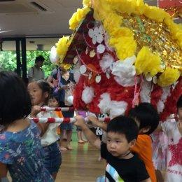 新羽どろんこ保育園の「どろんこ祭り」に参加しました