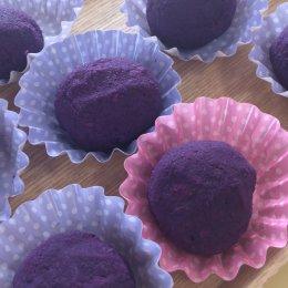 つむぎ阿佐ヶ谷ルーム「紫いものスイートポテト作り」
