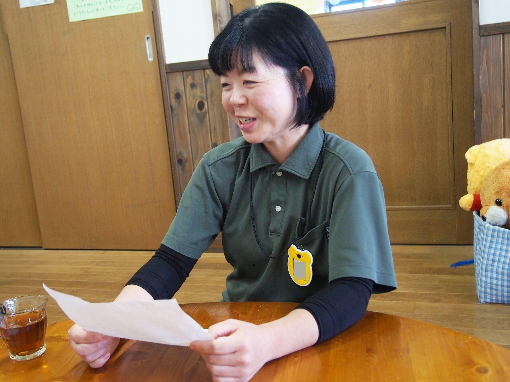 新座どろんこ保育園で主任を務める岩崎さん