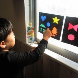 つむぎ阿佐ヶ谷ルーム体験学習「光の七変化。いろんな色がみえたよ」