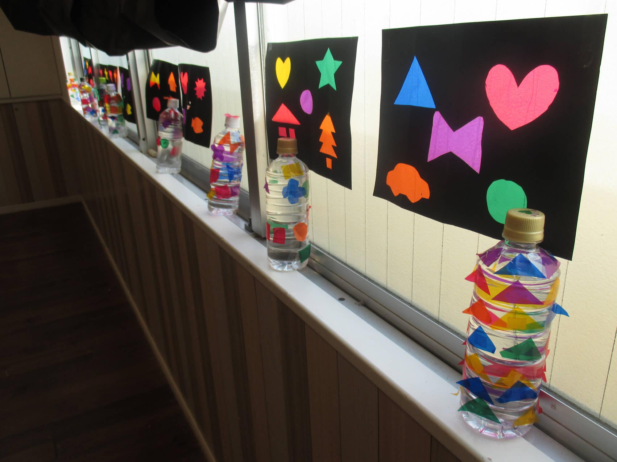 展示された子どもたちの作品