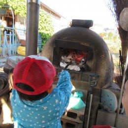 つむぎ調布ルーム11月体験学習「ホースセラピーと焼き芋作り」