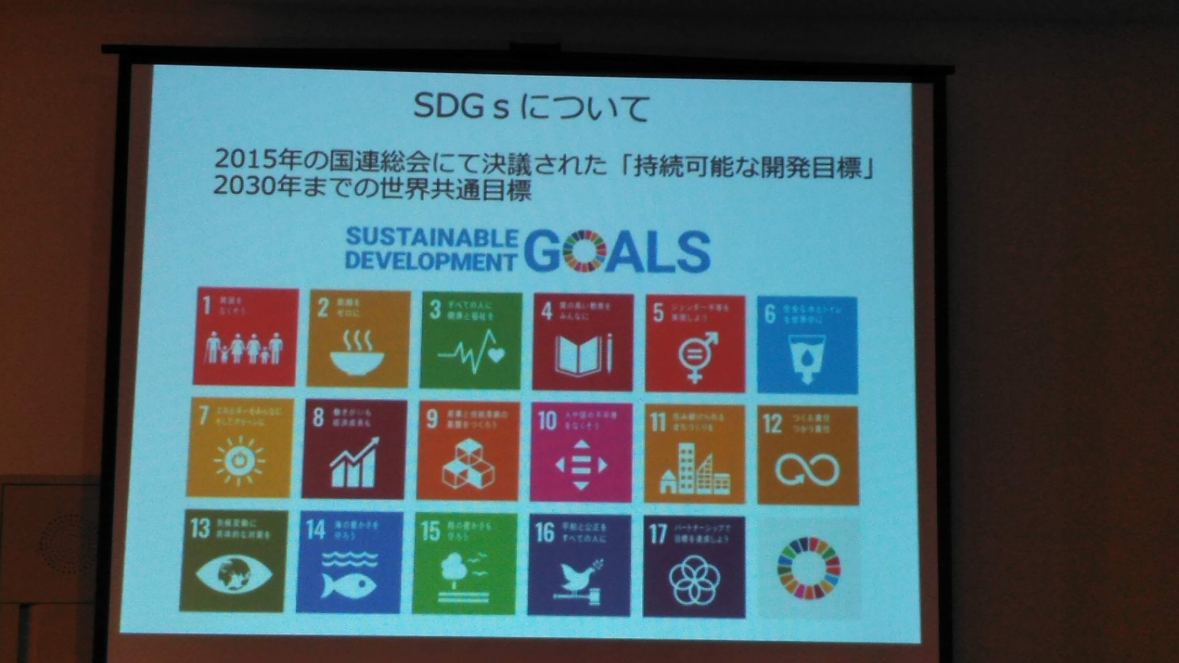 どろんこ会グループの活動はSDGsにつながることを説明