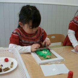 つむぎ荻窪ルーム「クリスマスの飾りを作ろう!」