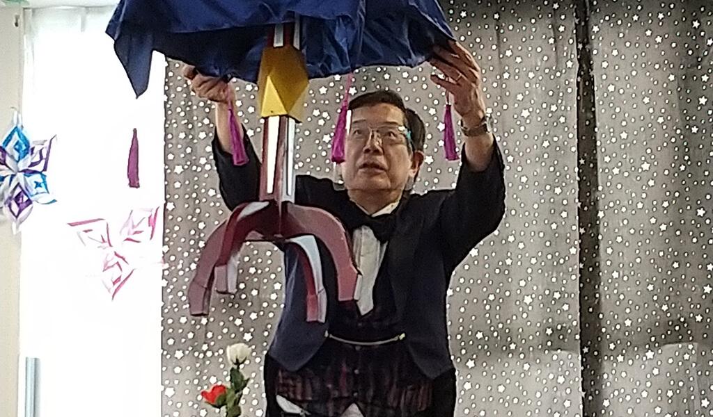 杉並マジッククラブの会長 田澤 利明さん