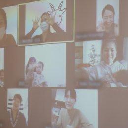 笑顔の参加者たち。