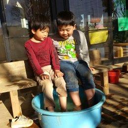 発達支援センターつむぎ浦和美園「つむぎ温泉~ホットなお湯でホッと一息~」