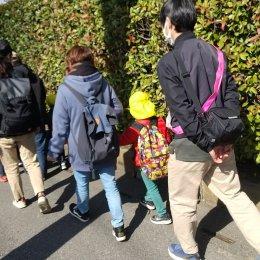 発達支援つむぎ桶川 2月体験学習「歩いて公園に行こう」