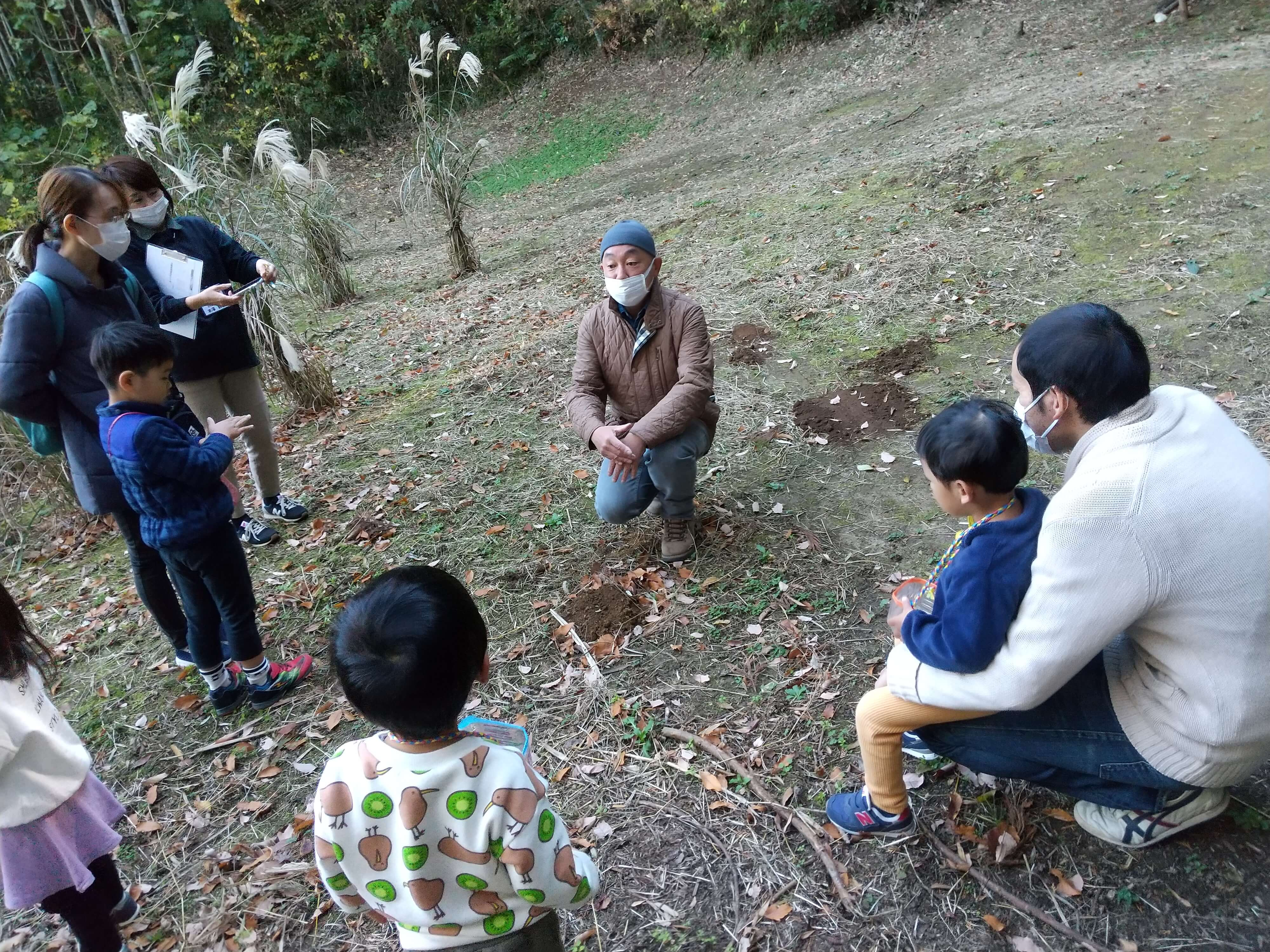 プロナチュラリスト佐々木さんが稲城の自然を解説