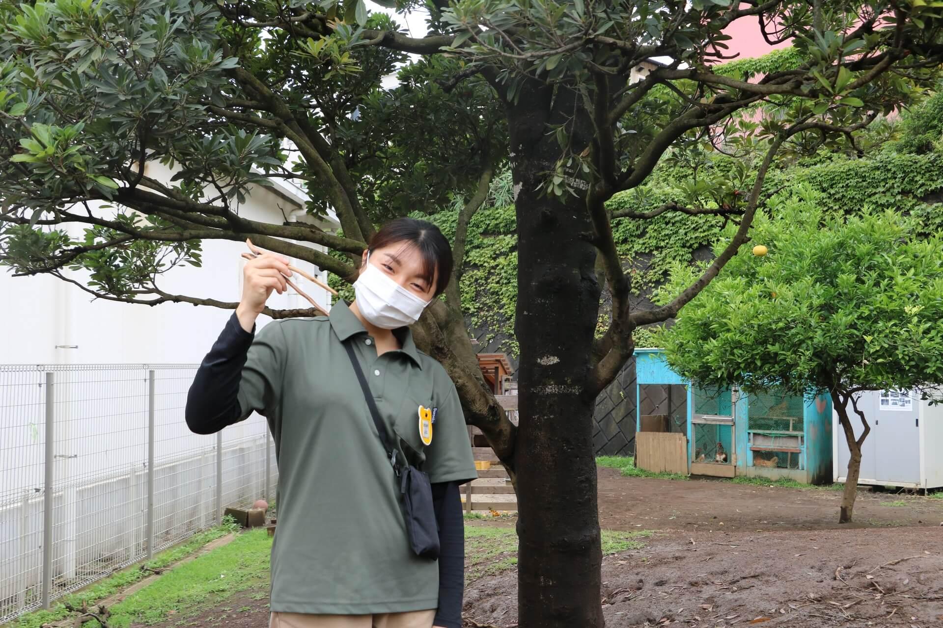 新卒入社1年目の松岡さん