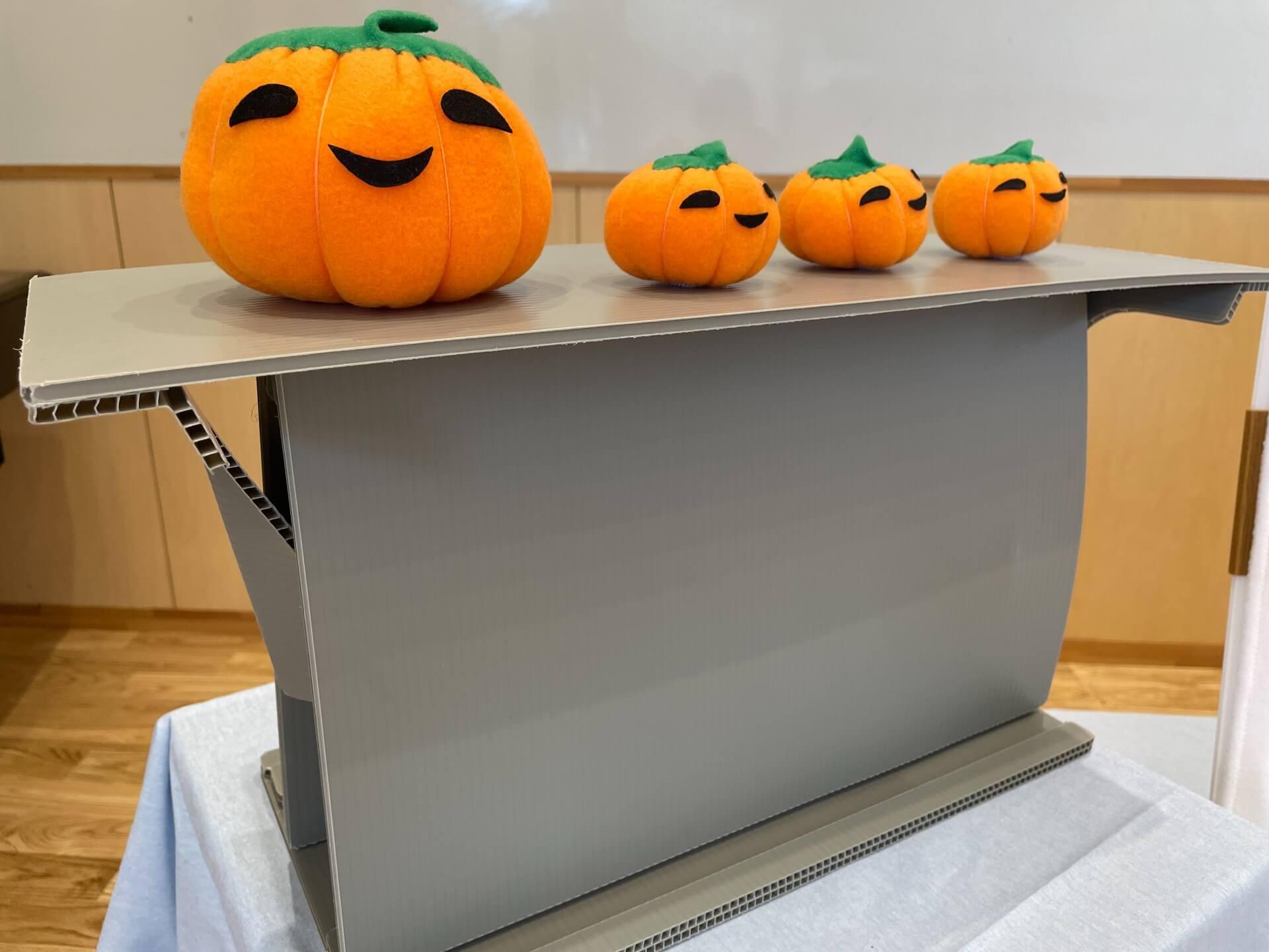 秋にはかぼちゃのお話を