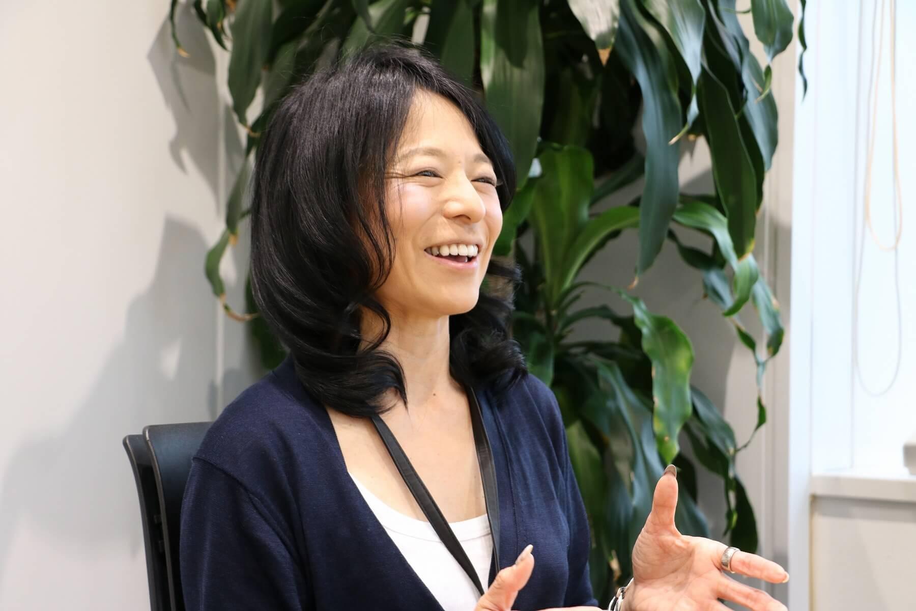 安永愛香理事長